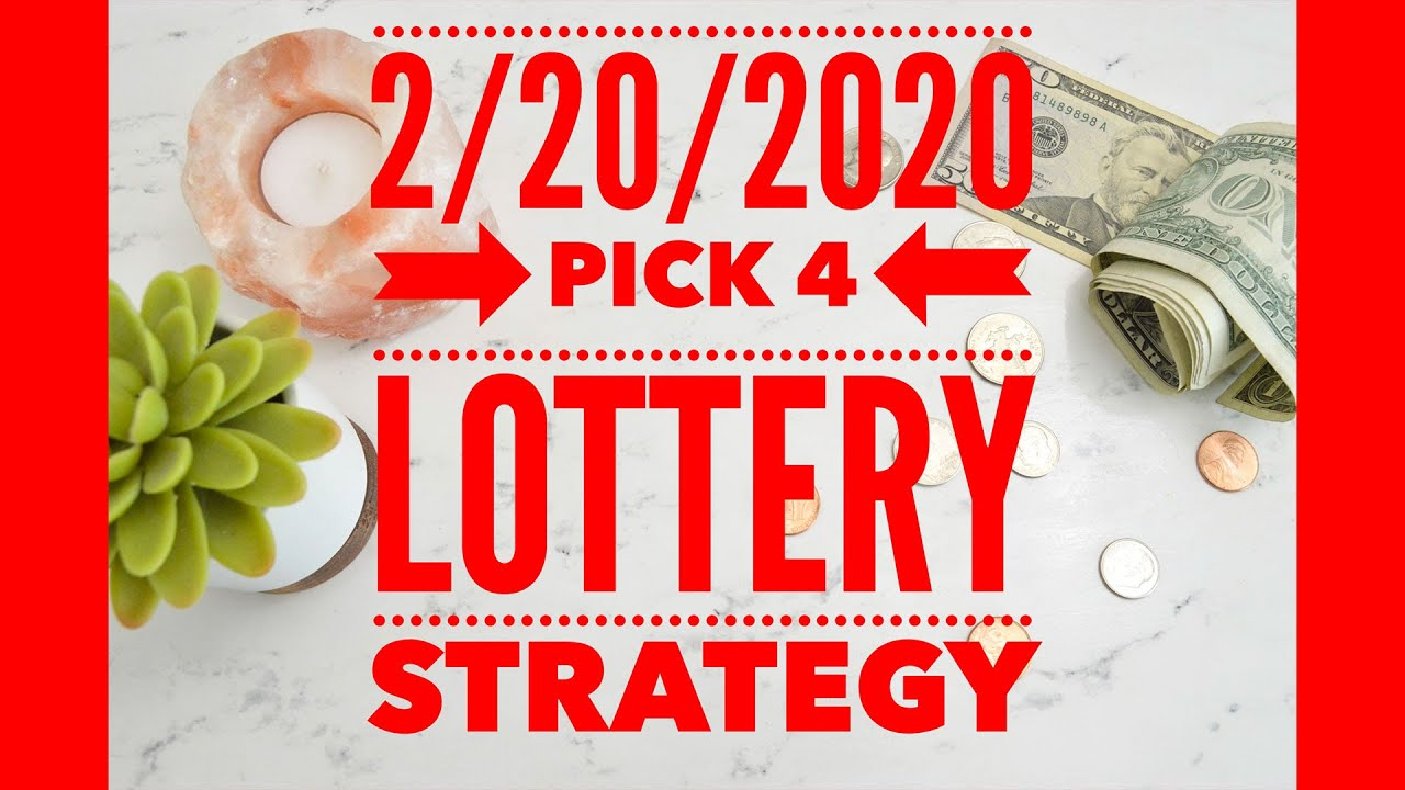 Pick 4 Strategy System - Does Making Money With Pick 4 Staking Plan Needed